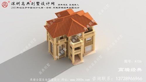 徐汇区农村建房图纸方案设计,外型精