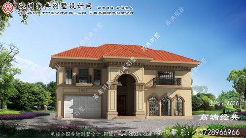 连江县二层私人别墅设计图
