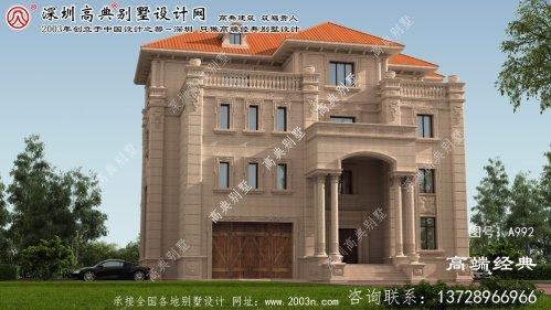 星子县四层复式别墅设计图