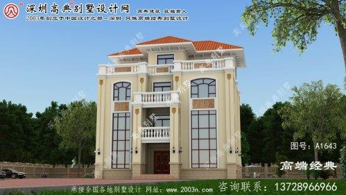 阳曲县大型别墅设计图