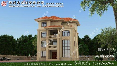 晋源区别墅建筑设计图