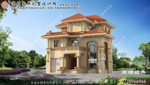 建平县三层房屋设计图