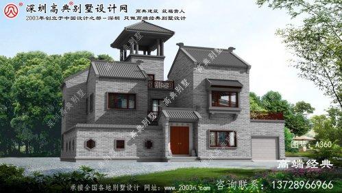工农区农村三层楼设计图
