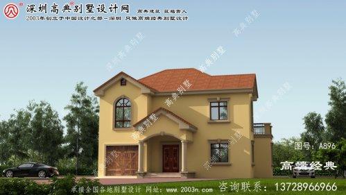 民权县两层楼别墅设计