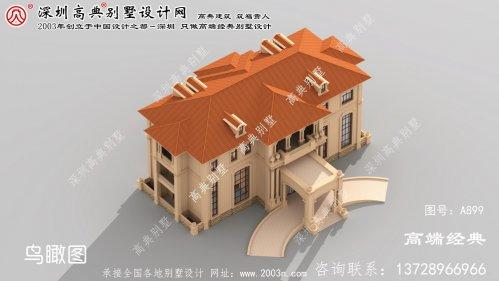 宁陵县豪华大型别墅设计图