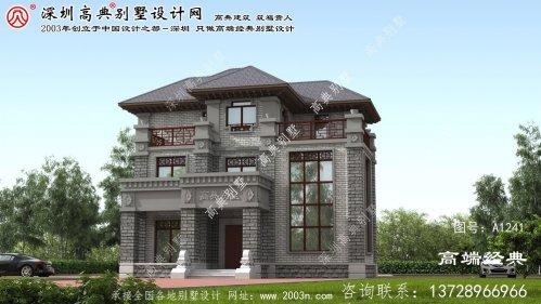 郴州市简约风格别墅外观
