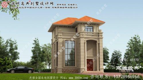 广宁县欧式别墅设计图集