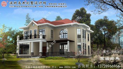 江北区别墅设计两层平面图