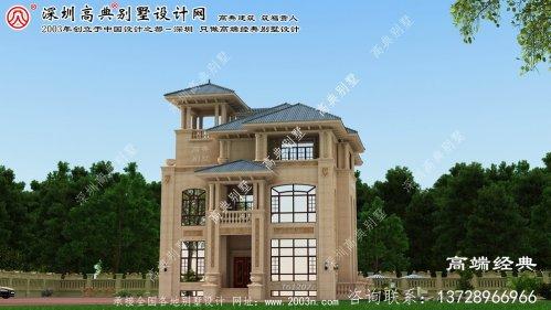 阆中市高端别墅设计效果图