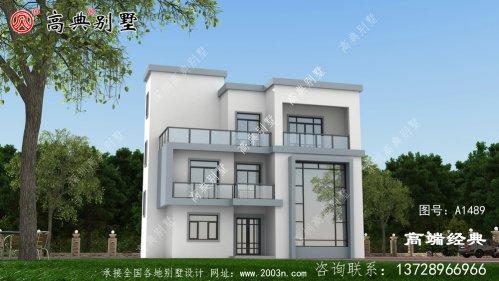 工布江达县现代风格农村别墅图