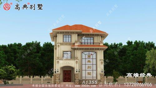 合水县农村三层自建房设计