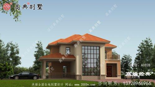 台中市农村民房建筑设计图