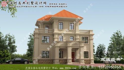 靖西县三层别墅既美观 又实用