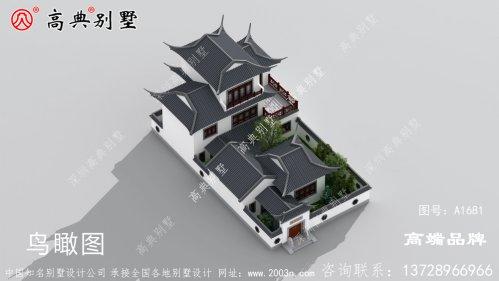 农村自建房设计图占地面积238 238平方米