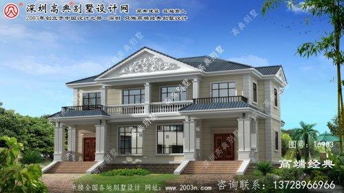 白云矿区经济实惠的法式风格:独栋别墅