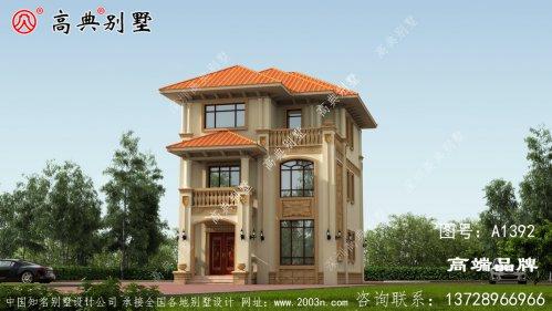 乡村三层住宅设计效果图家家户户都能