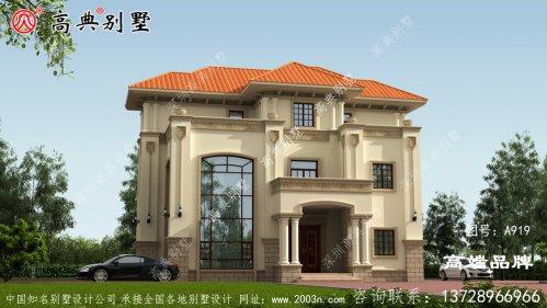 农村别墅欧式增强别墅的风格特质
