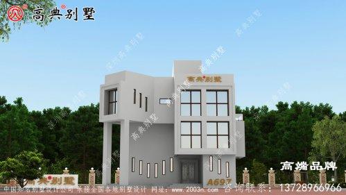 农村建房简约现代风格经济型别墅