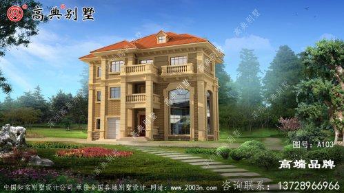 三层房屋设计图露台可用于晾晒