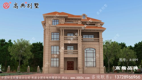 别墅装修设计公司欧式石材别墅