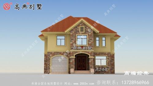 秦皇岛市二层别墅设计图纸,造价仅3