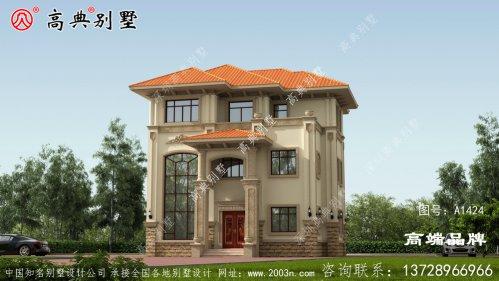 房屋欧式设计典雅有格调,设计巧妙