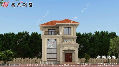 乡村楼房设计在村里建一栋太特别了