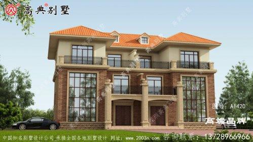 新农村房屋设计图纸整栋别墅精致洋气