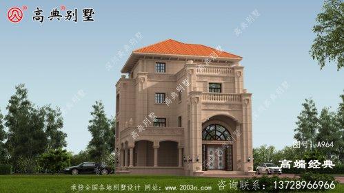 渭南市四层 最新 的乡村 别墅设计图温