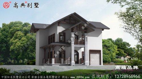 古典别墅设计整体更加沉稳大气