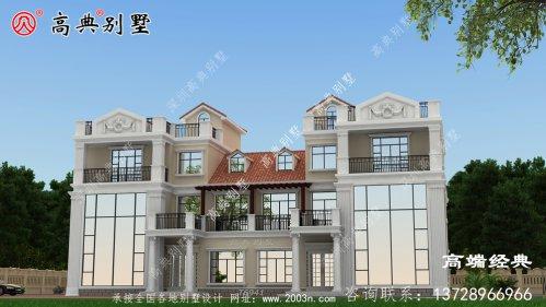 246平方的别墅图提高生活品质