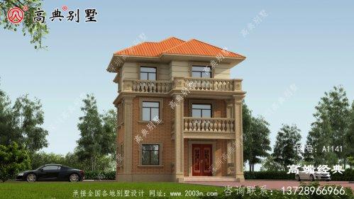 回乡建一栋漂亮的别墅,过有品质的生