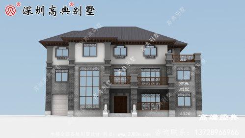 简易三层房户型设计方案图,建一栋漂