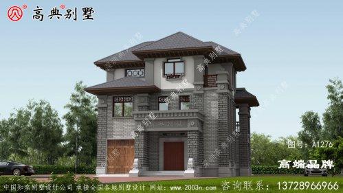 中式风格别墅经典的美感经久不衰