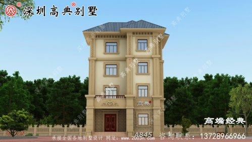 欧式四层别墅设计图,希望大家能够找