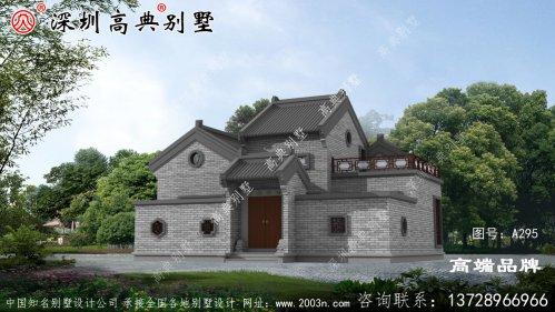新中式别墅设计图,,造价经济,施工