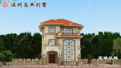 三层农村别墅设计图,适合自家的住房