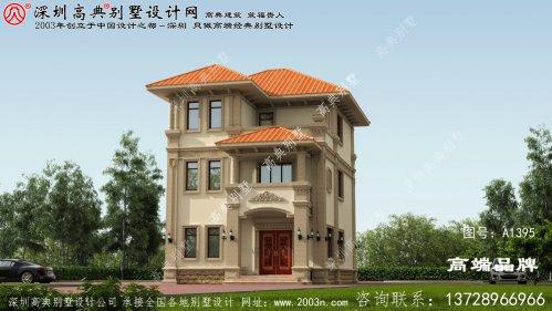 简约 大气 的三层 别墅设计图 及户型平面