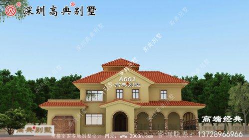 中式仿古自建房设计图,与传统元素相结