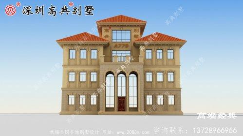 2021最年新款现代别墅图,风格独特,经典