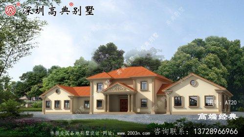 二层大宅基地别墅,建成同样受大众的欢迎