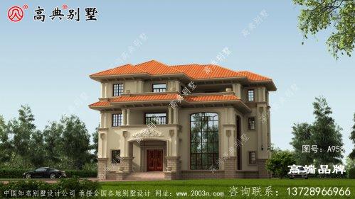 新农村住宅的设计致力于建造一栋属于自