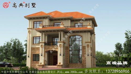 欧式风格别墅满足了大部分农村生活的需