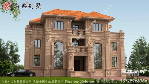 欧式石材别墅就是乡村建房的最高选择