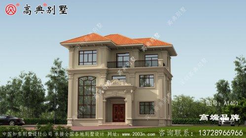 三层别墅设计图,有颜值有档次