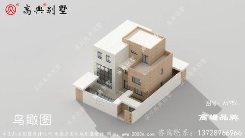 时尚现代三层别墅设计图,建在村里绝对